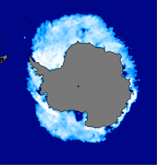 Near-Real-Time DMSP SSM/I-SSMIS Daily Polar Gridded Sea Ice Concentrations (Antarctic)