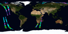 ASCAT Ocean Surface Wind Vector
